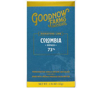 Goodnow Farms Dunkle Schokolade Colombia Boyacá 73%