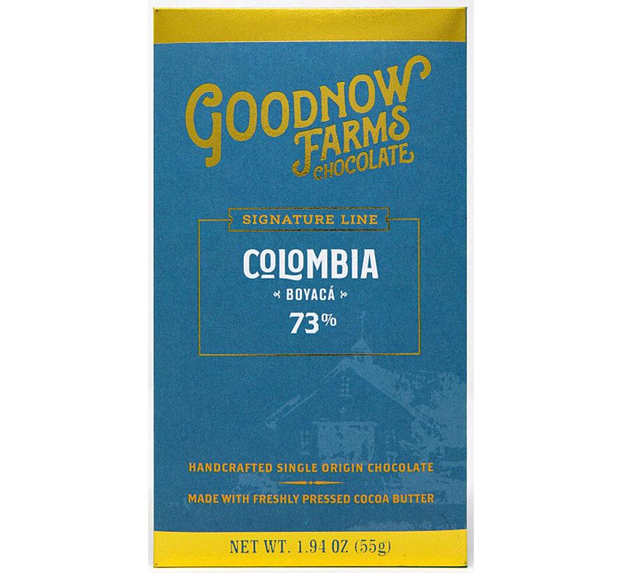 Dunkle Schokolade Colombia Boyacá 73%