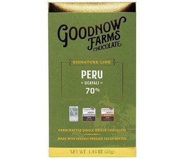 Goodnow Farms Dunkle Schokolade Peru Ucayali 70%