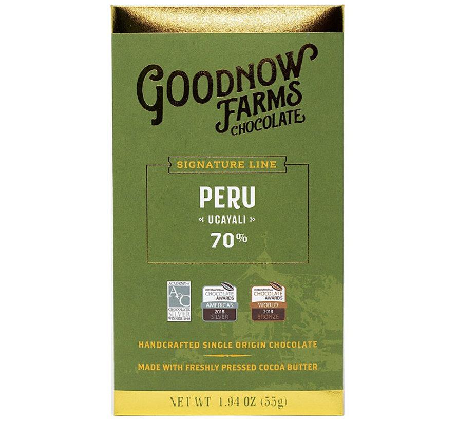 Dunkle Schokolade Peru Ucayali 70%