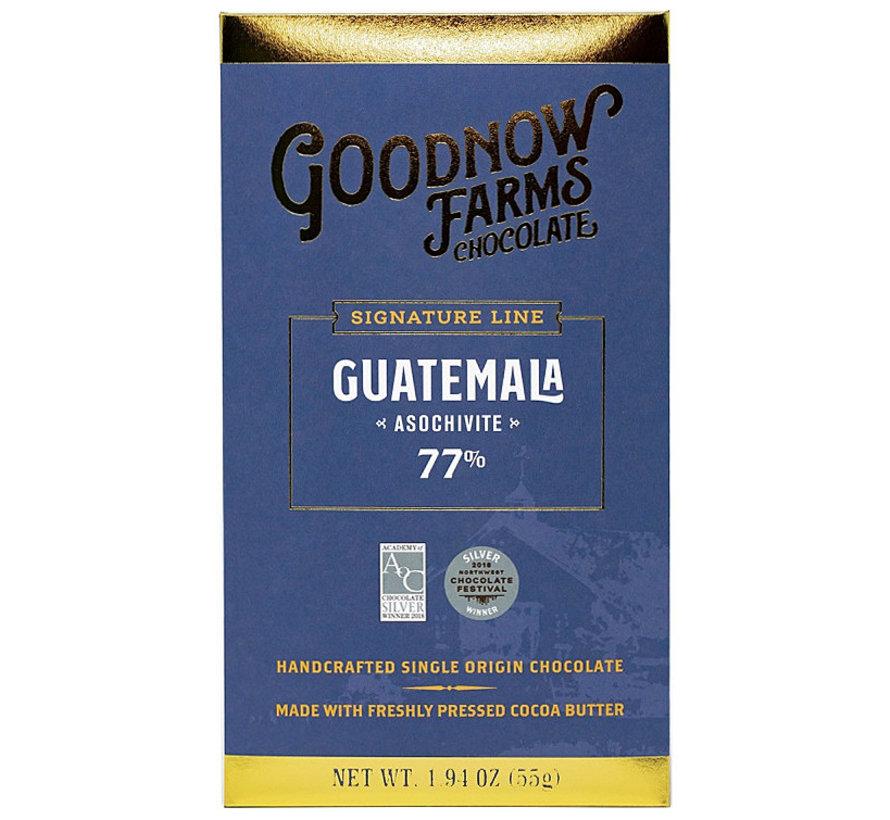 Dunkle Schokolade Guatemala Asochivite 77%