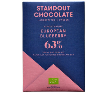 Standout Chocolate Dunkle Schokolade European Blueberry 63%