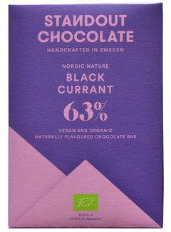 Standout Chocolate Dunkle Schokolade Black Current 63%