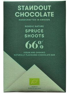 Standout Chocolate Dunkle Schokolade Spruce Shoots 66%