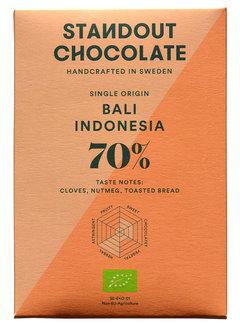 Standout Chocolate Dunkle Schokolade Bali Indonesia 70%