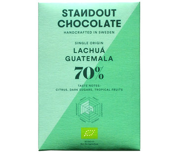 Standout Chocolate Dunkle Schokolade Lachuá Guatemala 70%