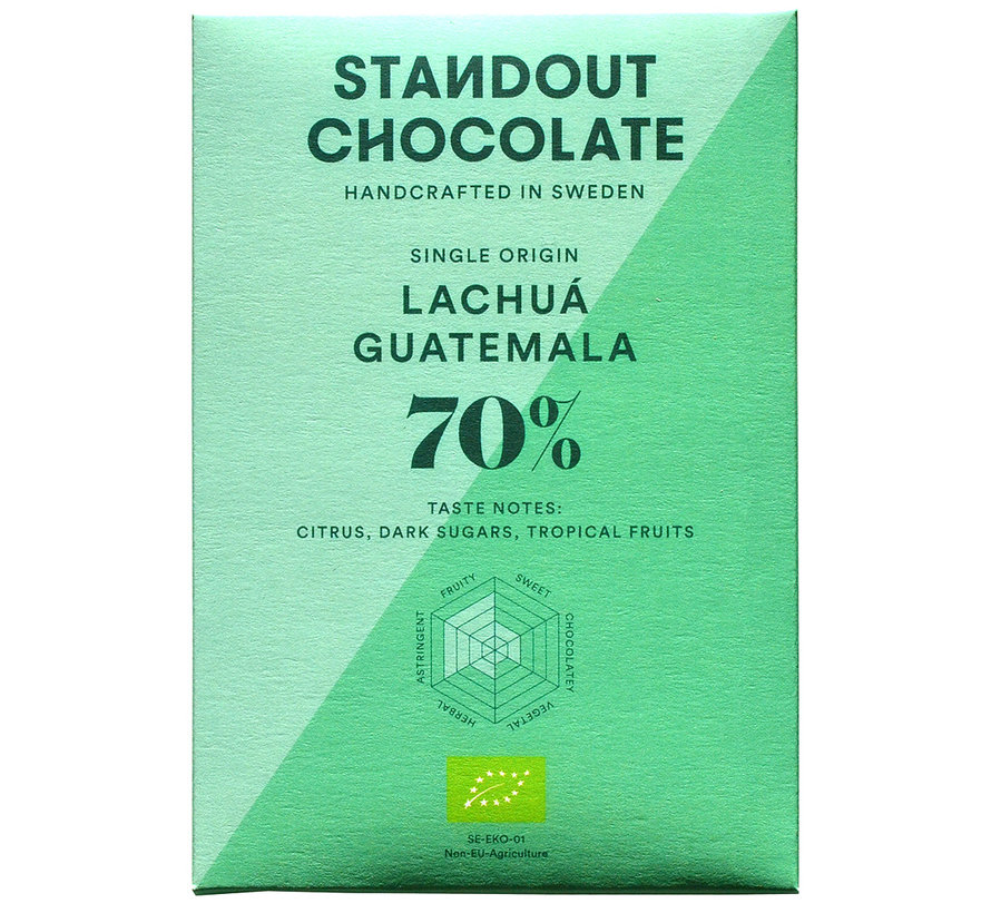 Dunkle Schokolade Lachuá Guatemala 70%