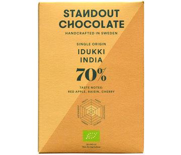 Standout Chocolate Dunkle Schokolade Idukki India 70%