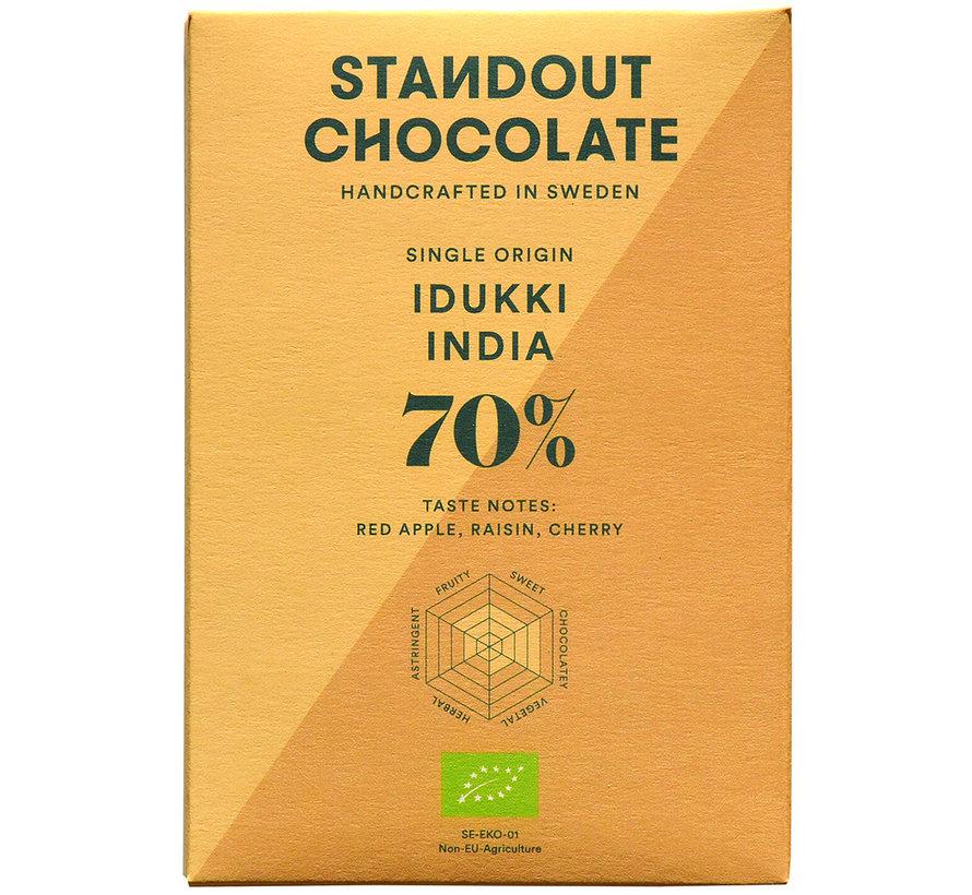 Dunkle Schokolade Idukki India 70%