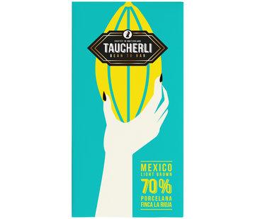 Taucherli Dunkle Schokolade 70% Mexico Light Brown