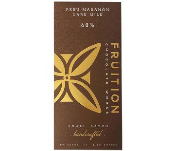 Fruition Chocolate Works Milchschokolade Marañón Canyon Dark Milk 68%