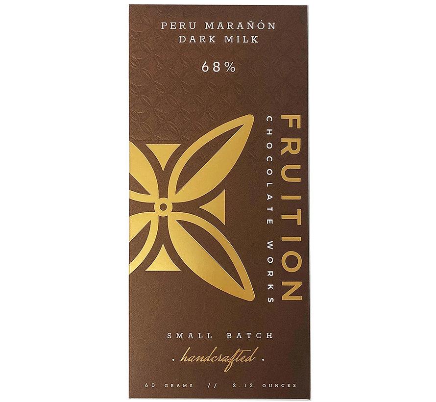 Milchschokolade Marañón Canyon Dark Milk 68%