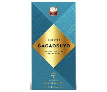 Cacaosuyo Dunkle Schokolade Cusco 80%