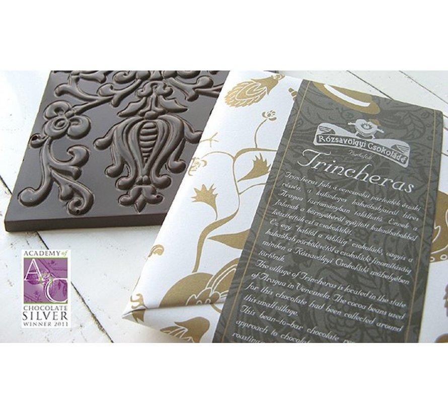 Dunkle Schokolade 70% Trincheras