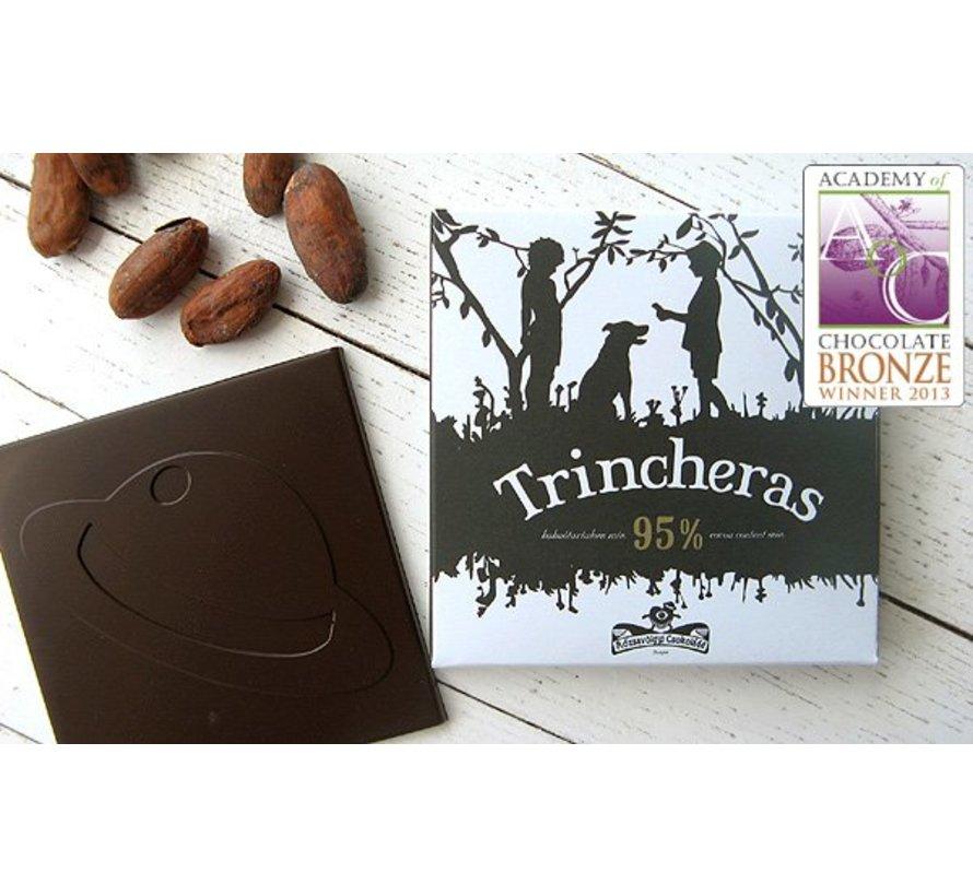 Dunkle Schokolade 95% Trincheras