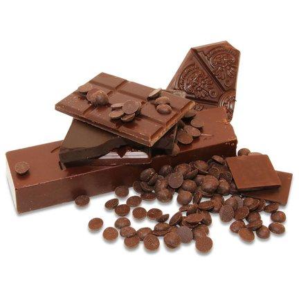 Dunkle Schokoladen