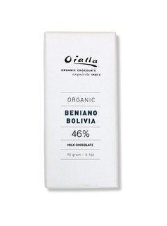 Oialla Bio-Milchschokolade Beniano Bolivia 46%