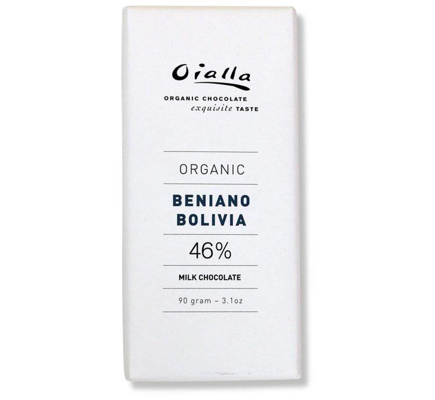 Bio-Milchschokolade Beniano Bolivia 46%