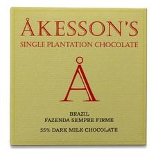 Akesson's Milchschokolade Brazil Fazenda Sempre Firme 55%