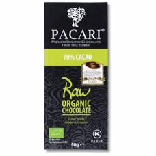 Pacari Dunkle Schokolade 70% Raw