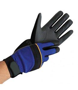 Hygostar nylon fijngebreide handschoen met PU coating  - MECHANIC