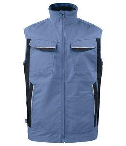 Prio/Projob service vest in een easycare materiaal polyester/katoen- HALO