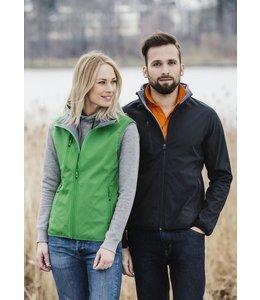 Clique Modern dames softshell vest uitgerust met ton sur ton ritsen en maar liefst 5 zakken - CELINA