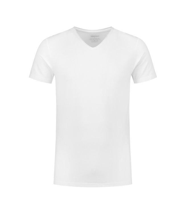 Santino - Heren t-shirt V-NECK - JONAZ