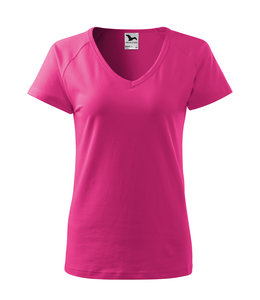 Malfini Dames t-shirt V-hals  95% cotton/5% elasthan- DREAM