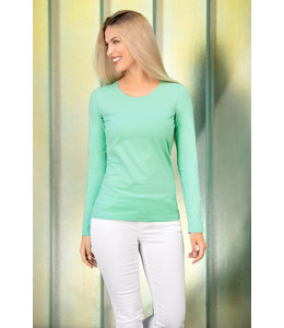 Malfini Dames t-shirt SLIM FIT long sleeve - SAPHIRA