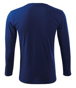 Malfini Unisex t-shirt lange mouw met contrast op schouder -  RICARD