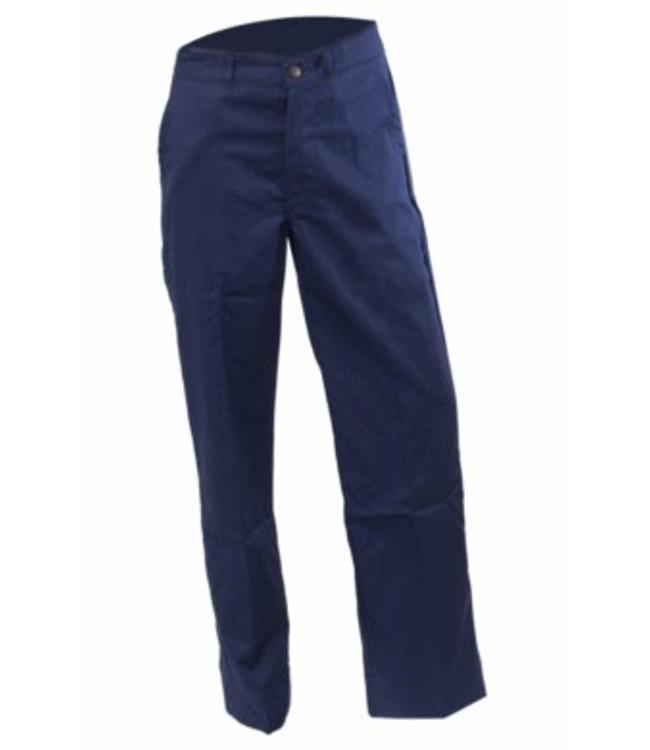 BASIC - heren werkbroek GARY, 100% katoen met verstelbaar rugelastiek, meterzak, drukknoopsluiting, twee steekzakken, achterzak met versterking