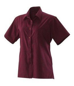 Exner Dames blouse korte mouw - COLUMBIA