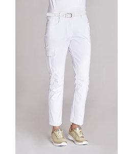 Leiber Dames pantalon  five pocket  model stretch met dijbeenzak - QUINTY