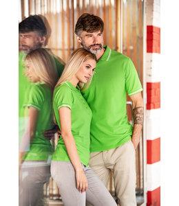 Malfini Dames polo shirt met contrast streep - NADIA