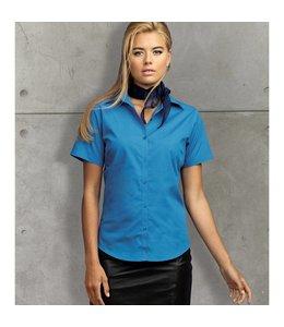 Premier Dames blouse met korte mouwen, popeline - ZILLA
