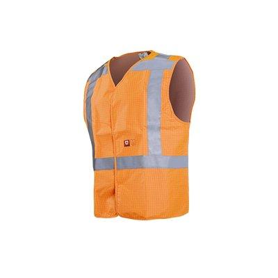 multinorm bodywarmer,vest high vis