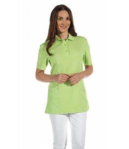 Leiber dames polo met zakken voor zorg en facilitair  lang model - ZINZI