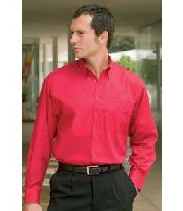 Kustom Kit NIKO, heren overhemd met lange mouw en verstelbare manchet