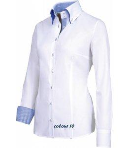 Giovanni Capraro Luxe italiaanse dames blouse - FIORE