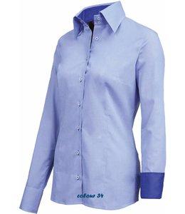 Giovanni Capraro Luxe iltaliaanse dames blouse - GENOVEFFA