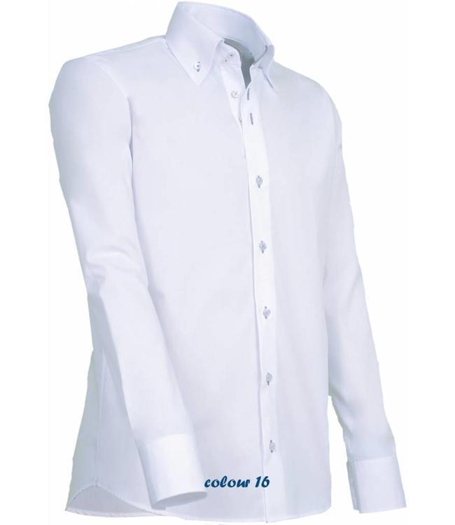 Overhemd Italiaans Design.Luxe Heren Overhemd Italiaans Design Met Knoopsluiting En Subtiele