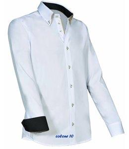 Giovanni Capraro Italiaans design heren overhemd - ENRICO
