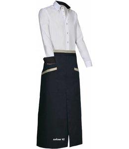 Giovanni Capraro luxe sloof BROOKE (CRESENZO) met passende contrastkleuren bijpassend bij italiaanse design blouses