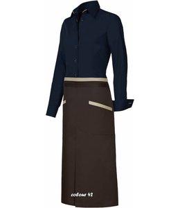 Giovanni Capraro luxe sloof AMARON (CRESENZO) met passende contrastkleuren bijpassend bij italiaanse design blouses