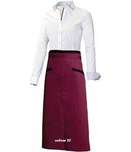 Giovanni Capraro luxe sloof ALANO (CRESENZO) met passende contrastkleuren bijpassend bij italiaanse design blouses