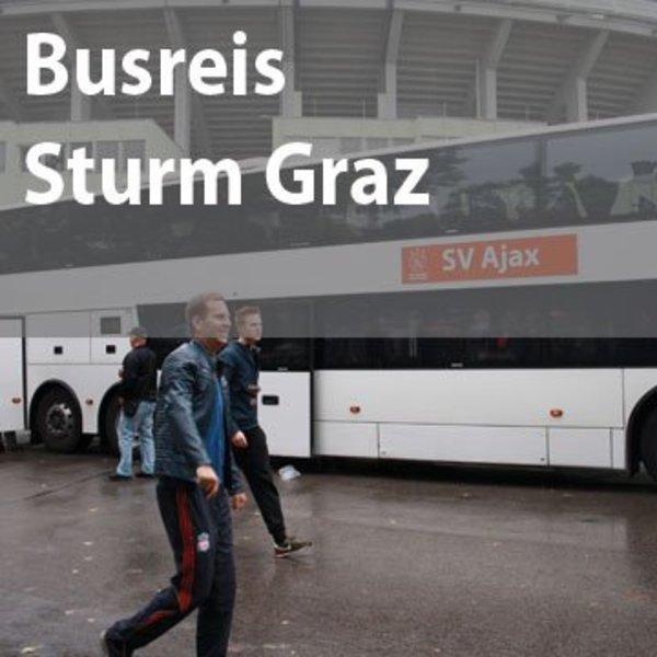 Busreis Sturm Graz - Ajax