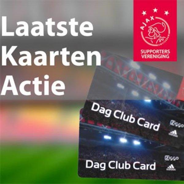 Laatste Kaarten Actie: Ajax - FC Emmen (25 augustus)