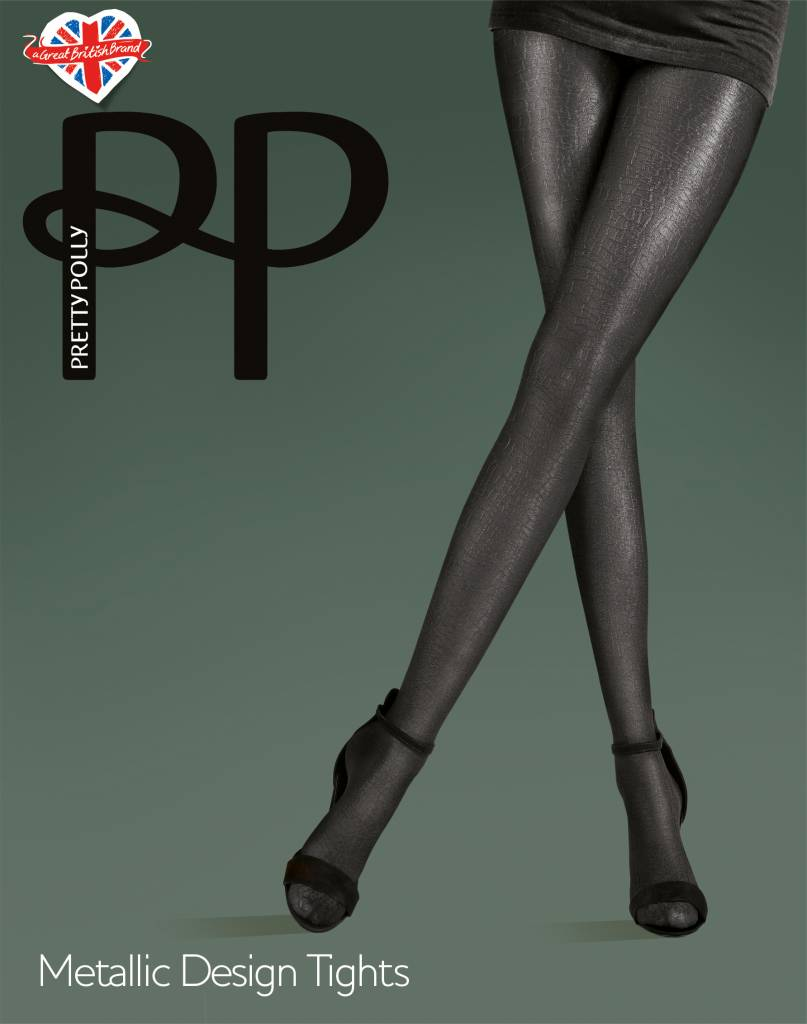Pretty Polly Metallic Design Panty