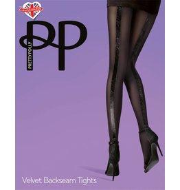 Pretty Polly Velvet Backseam Tights